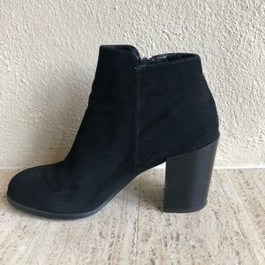 Faux suede Forever21 booties